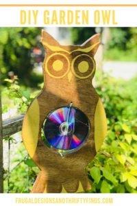 DIY Garden Owl