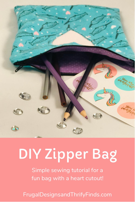 DIY Zipper Bag
