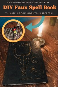 DIY Faux Spell Book