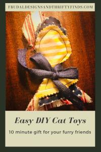 Easy DIY Cat Toys